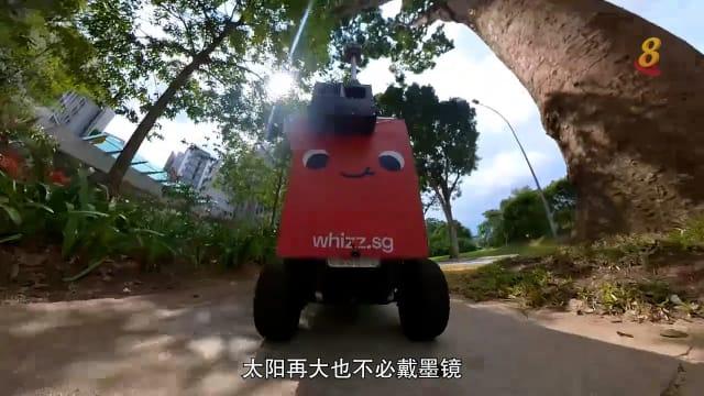 前线追踪 | 送餐机器人走红校园
