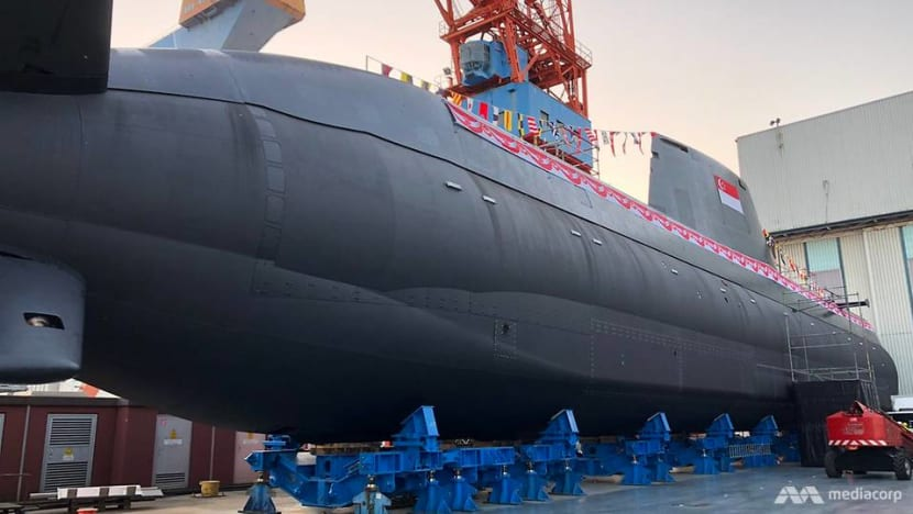 Made for Singapore: First of four custom-built RSN submarines launched in Germany