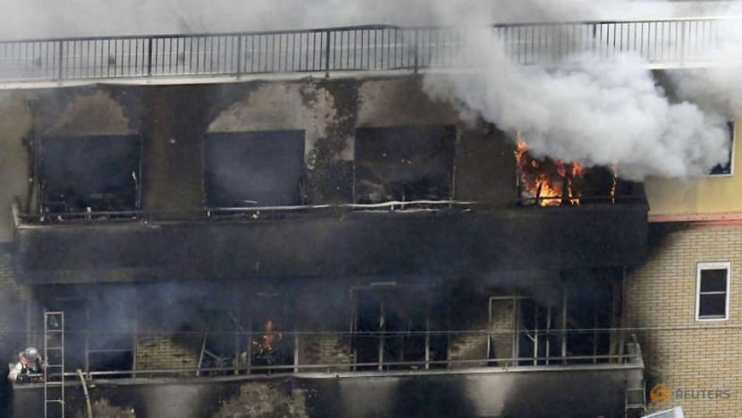 Torched Japanese anime studio had received 'death threats'