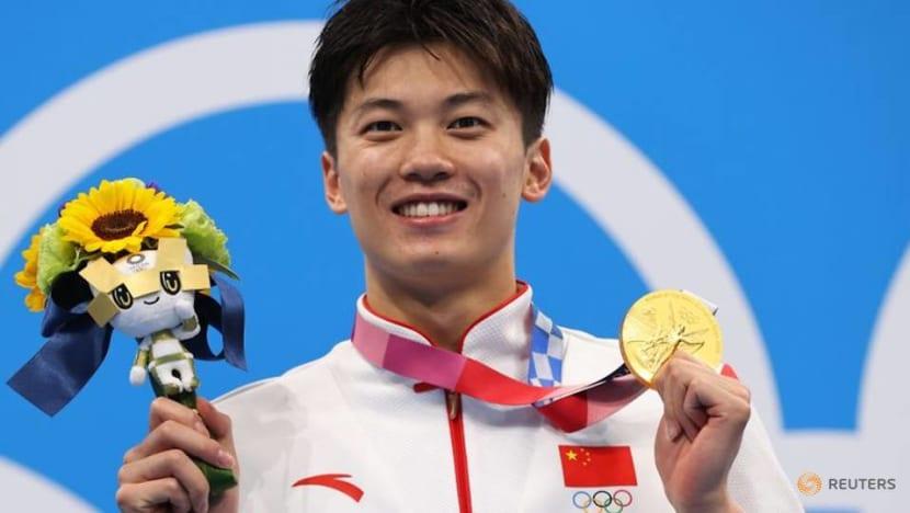 Olympics-Swimming-China's Wang comes of age to win 200 individual medley
