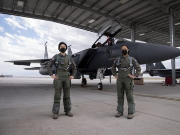 First all-female F-15SG fighter crew say they make a good team