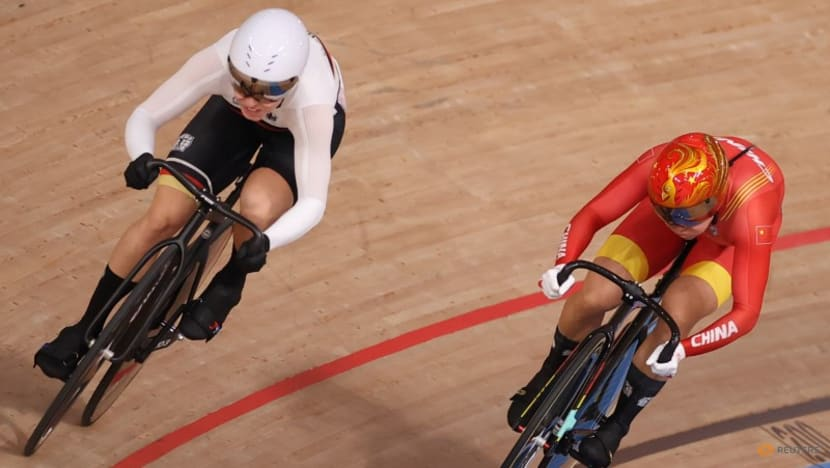 Cycling: Germany's Hinze powers into sprint semis, Marchant fades