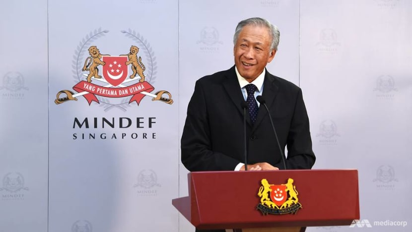 Defence Minister Ng Eng Hen to attend Xiangshan Forum, Military World Games in China