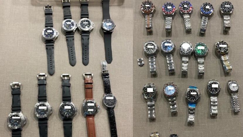 Man arrested for allegedly selling counterfeit luxury goods online