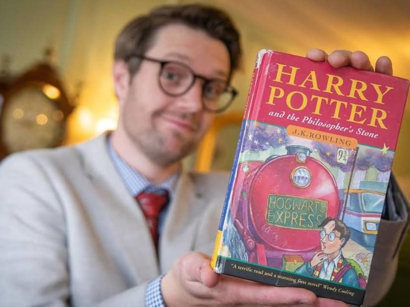 Rare Harry Potter book bought for S$1.65 20 years ago sells for S$47,550