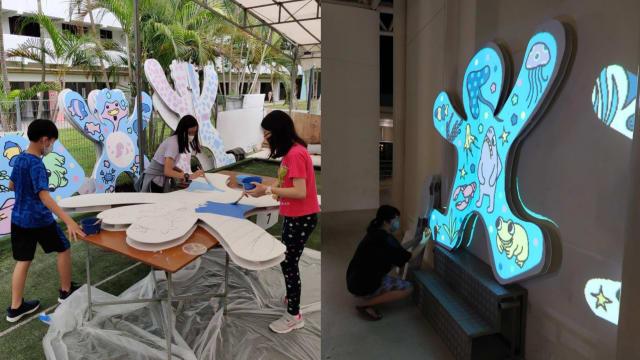 人协百盛艺术节线上线下举行 艺术家携手公众打造艺术作品