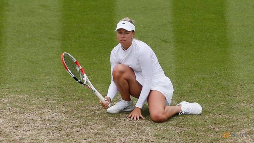 Tennis-Kontaveit into Eastbourne final as Giorgi quits