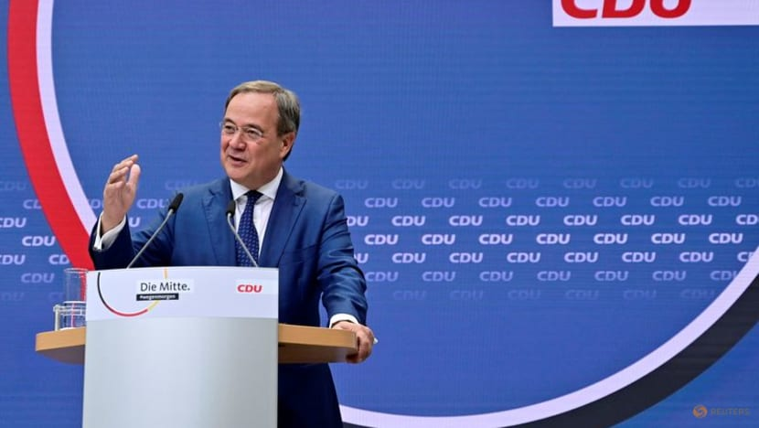 Down in polls, German CDU vows to fight hard in final campaign stretch