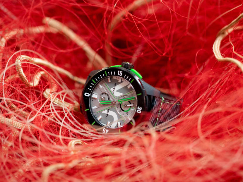 Your watches are now made from recycled fishing nets and used aerospace titanium