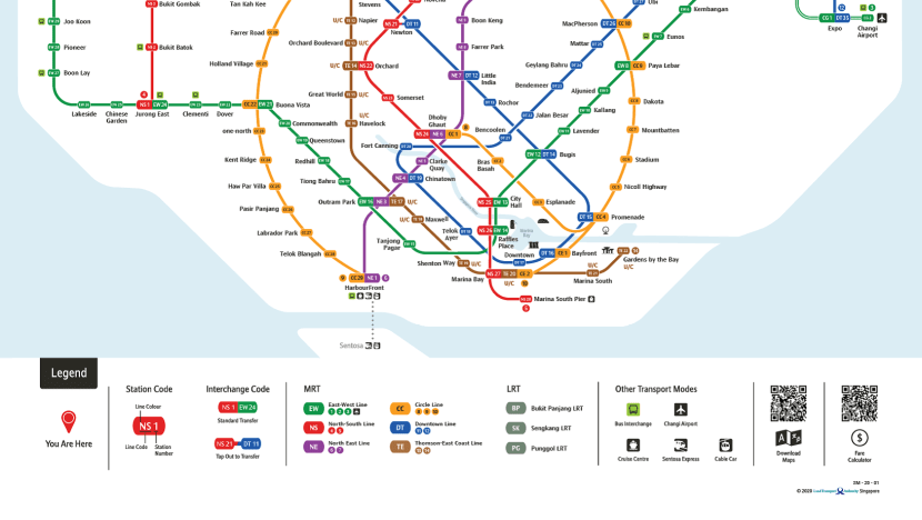 New MRT map launched with Circle Line as focal point