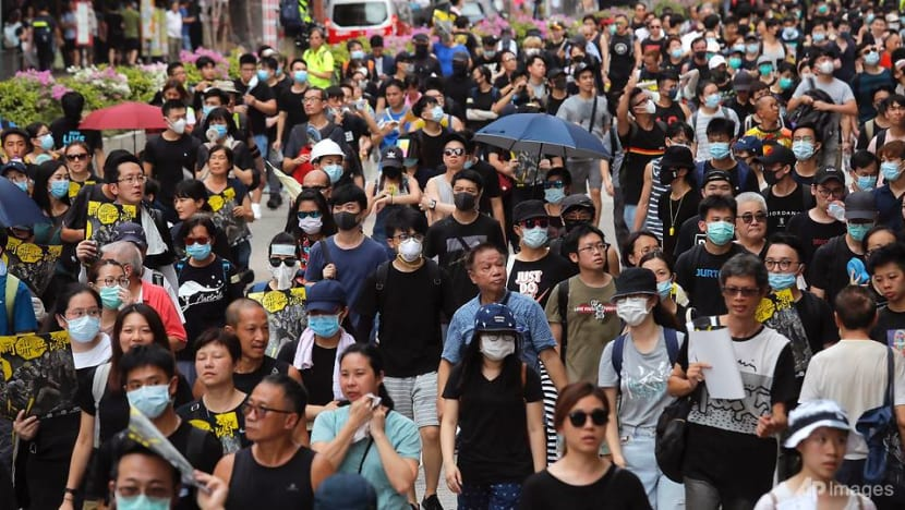 China slams Hong Kong protest violence as 'terrorism'