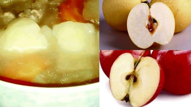 【瘦身食疗】苹果雪梨汤