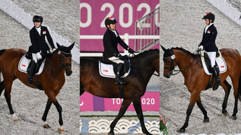 Tokyo Paralympics: Singapore equestrian trio competes at team event