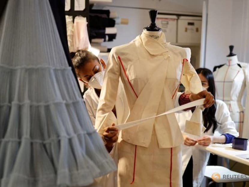 Designers get creative for couture as COVID-19 lockdowns provided challenges
