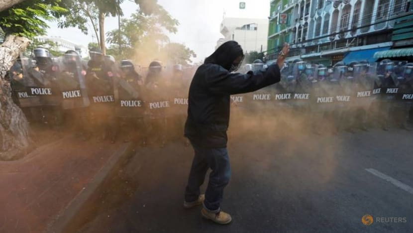 Thai protesters to pause for now and return next year