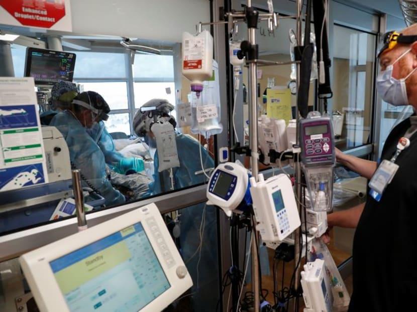 US coronavirus hospitalisations hit eight-month high over 100,000