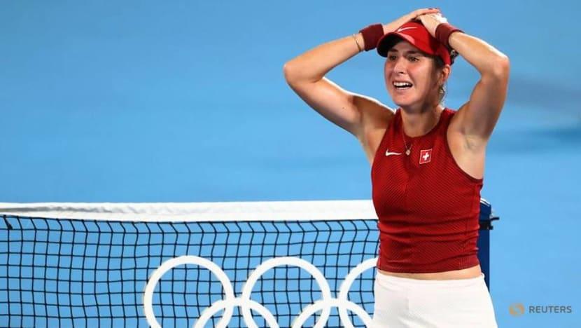 Tennis: Swiss Bencic beats Vondrousova to win women's singles gold