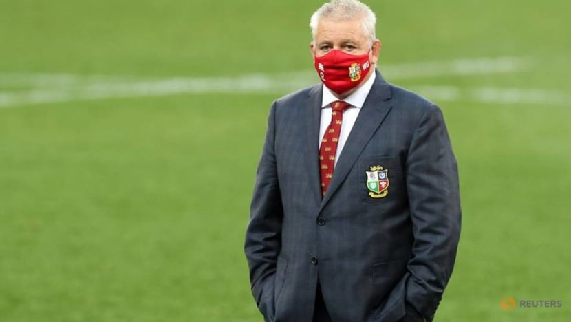 Rugby-Gatland disappointed Lions dragged into match official critique controversy
