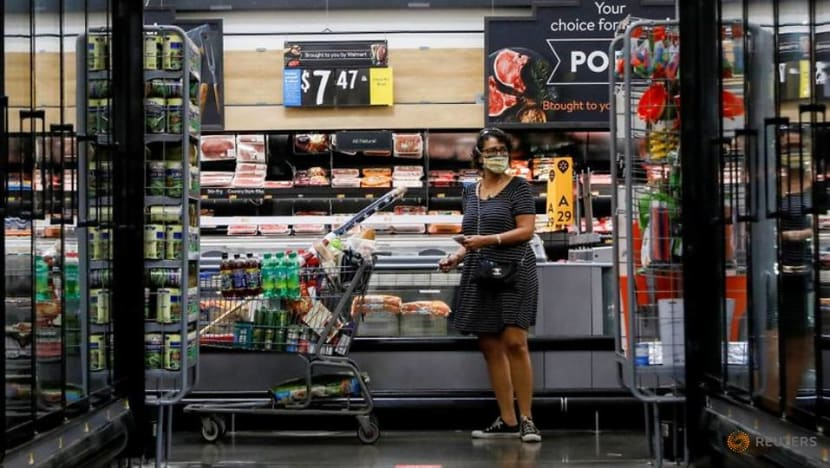 US consumer confidence posts biggest gain in 17 years; downside risks remain