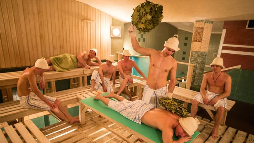 Naked in a Moscow bathhouse: A Singaporean lives to tell