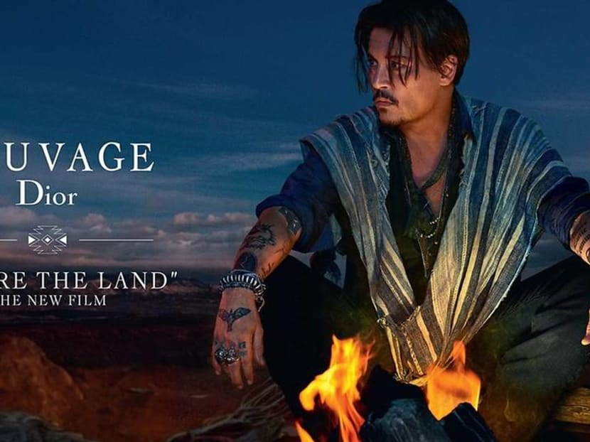 Dior pulls Johnny Depp perfume ad after claims of cultural appropriation