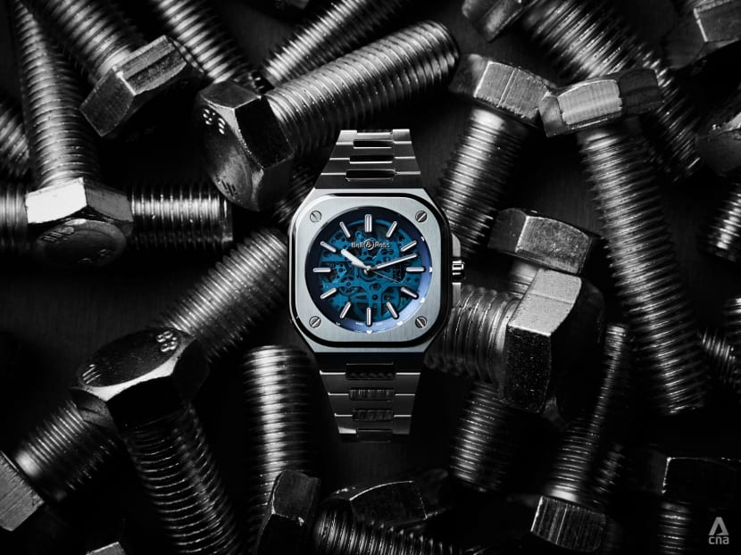 How did the tiny screw end up becoming a celebrated design motif on watches?