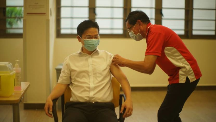 Get vaccinated for COVID-19 when you can, instead of waiting for specific brand, says Lawrence Wong