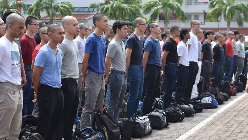 'Anybody can stop unsafe training': Ng Eng Hen reassures parents sending sons to NS