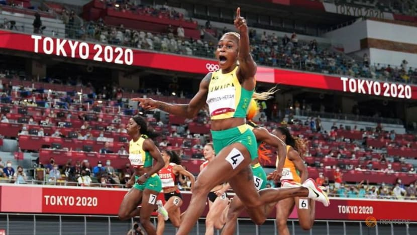 """Athletics: Thompson-Herah's run was """"almost perfect"""", says coach"""