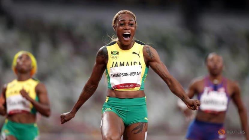 Athletics: Jamaica's Thompson-Herah wins women's 100m gold at Tokyo Olympics