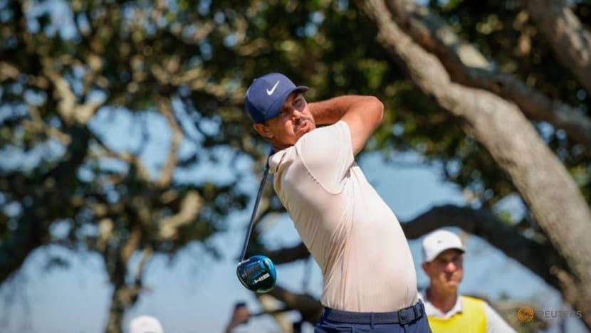 Golf-'Brooksy' vs. Bryson: Golf's juiciest feud spills over at Memorial