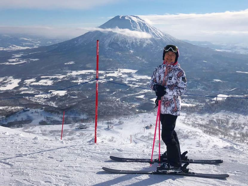 The Singaporean who wakes up every morning to go skiing for work
