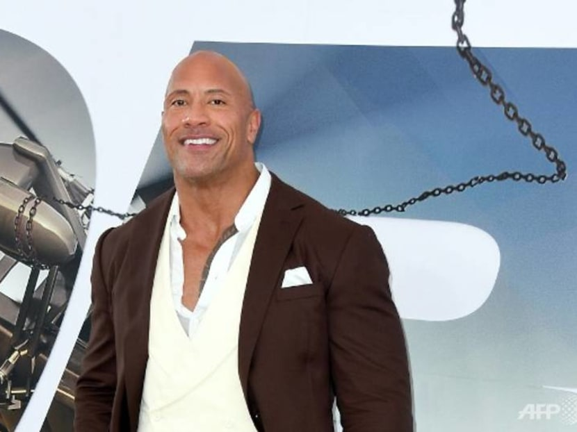 Watch Dwayne Johnson help his daughter wash her hands while singing Moana tune