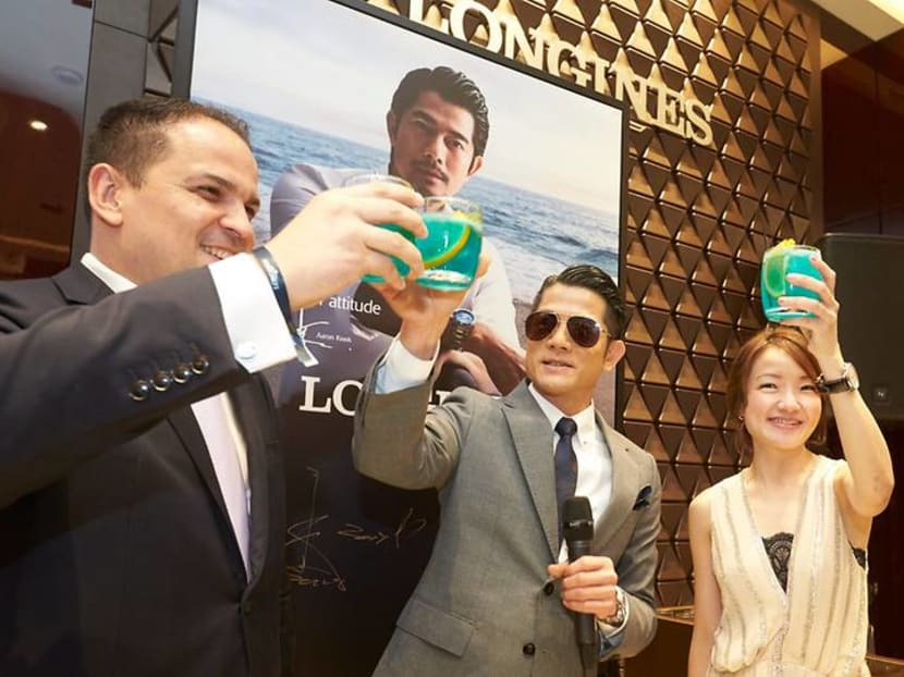Aaron Kwok: 'I hope my baby will grow up and do something good for society'