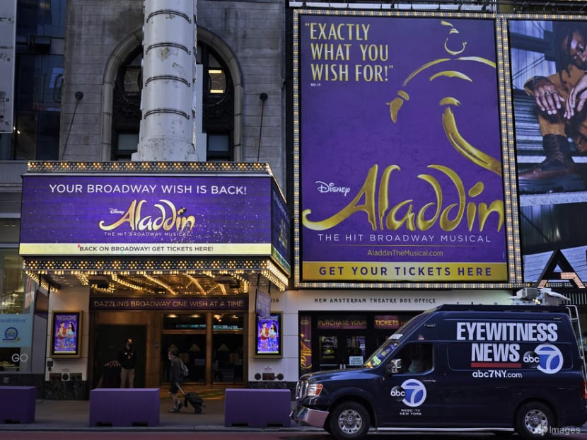 Not letting COVID-19 out: Broadway's Aladdin shuts for 12 days to battle virus