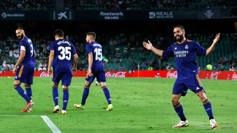 Football: Carvajal volley gives Real Madrid second win of season