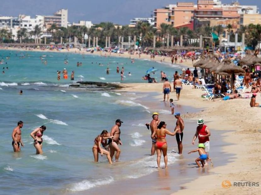Locked-down Spaniards seethe with envy as Germans flock to Mallorca