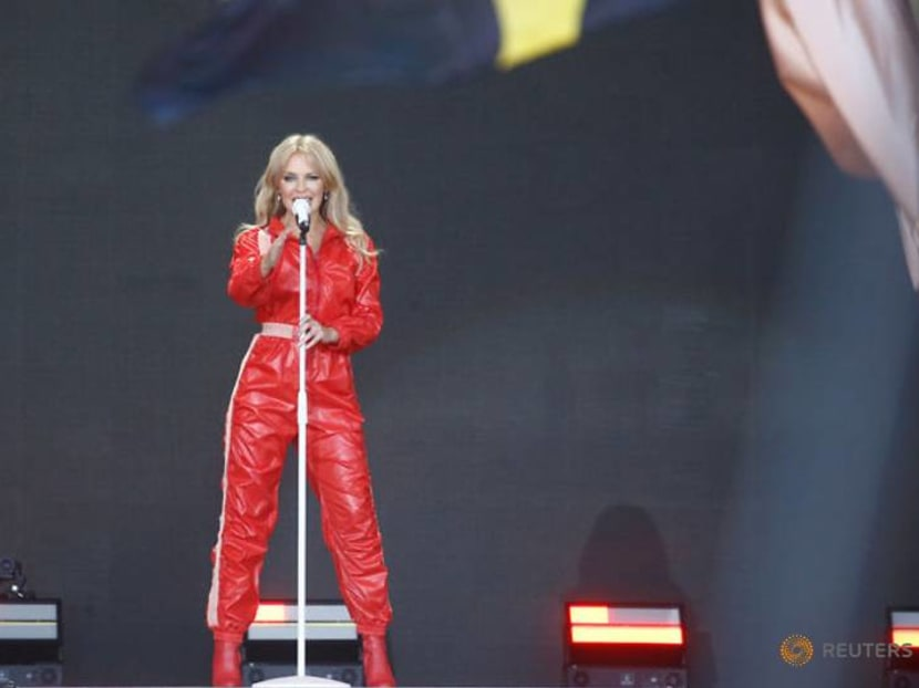 Kylie Minogue performs at Glastonbury 14 years after cancelling due to breast cancer