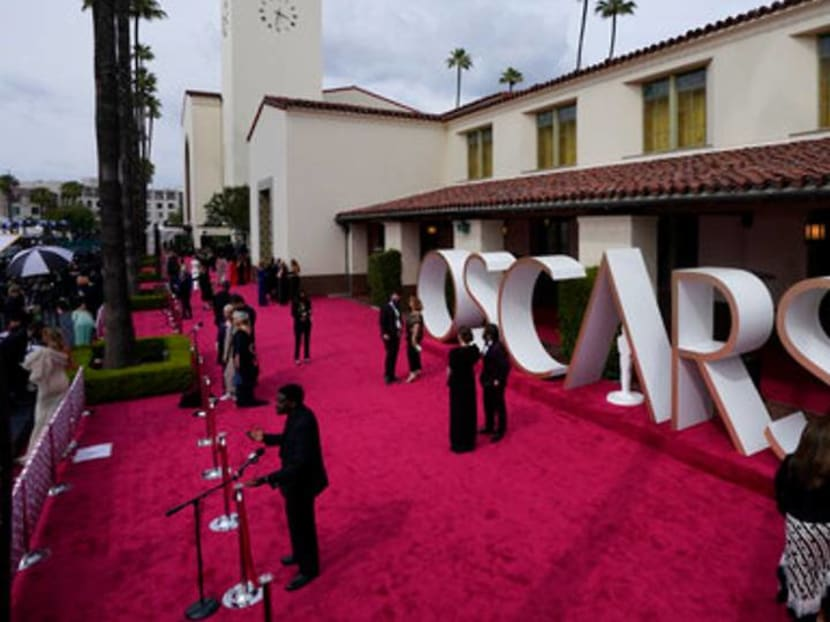 It's back! The red carpet returns at history-making Oscars