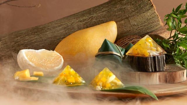 翡翠集团粽子口味多 香辣咸甜任你挑选