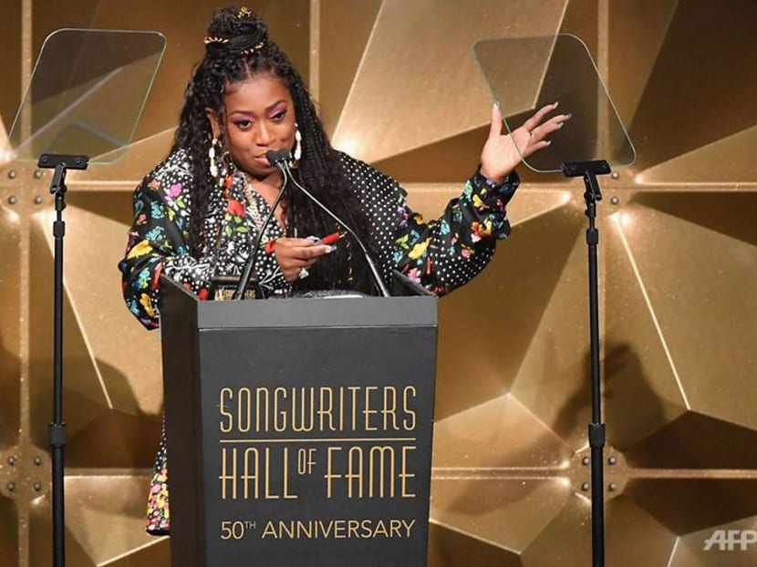 Rapper Missy Elliott inducted into Songwriters Hall of Fame