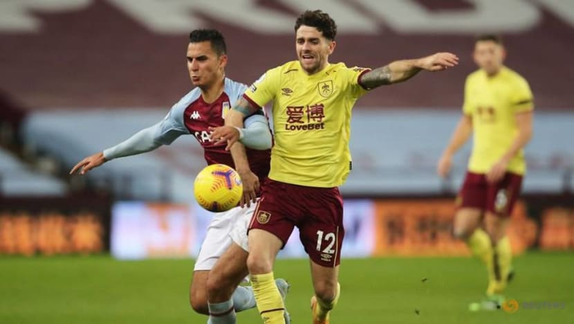 Football: Villa frustrated in goalless draw with Burnley
