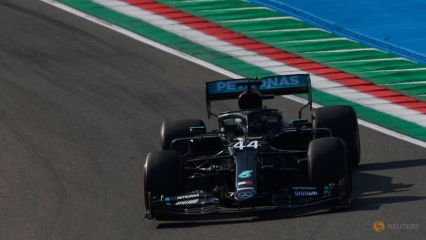 Formula 1: Hamilton sets pace during Imola practice