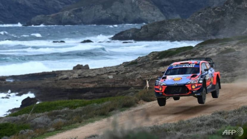 Rallying: Back-to-back wins for Sordo in Sardinia, Evans holds WRC lead