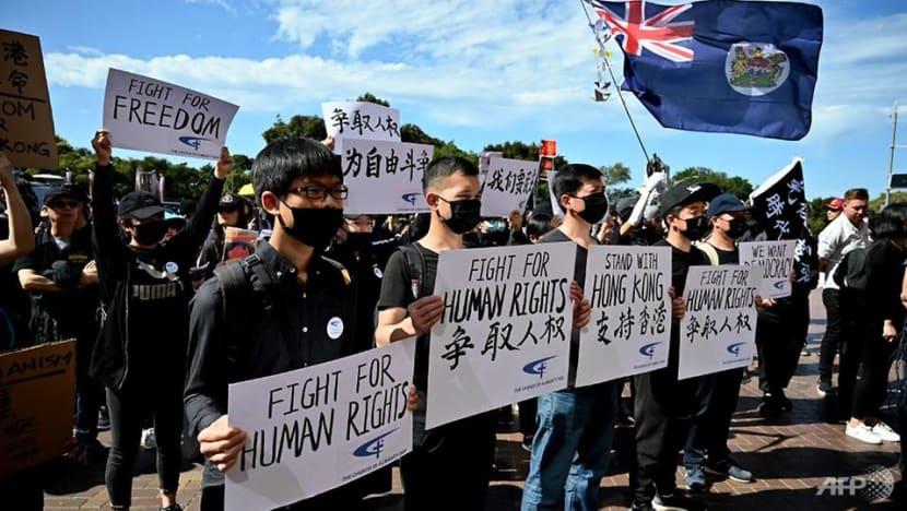 Sydney and Taiwan kick off global protests for Hong Kong