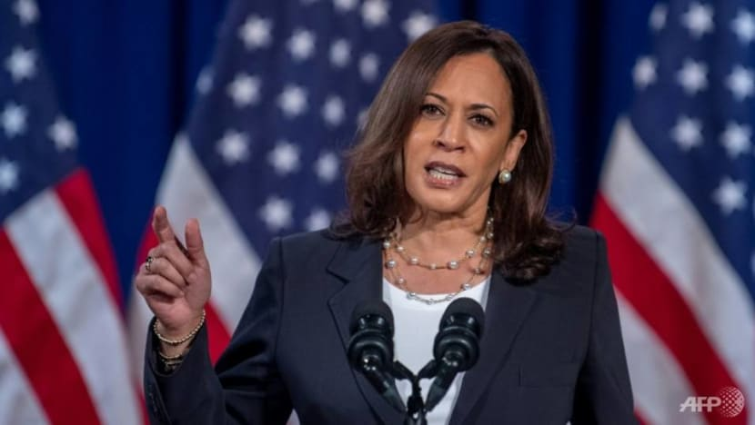 Kamala Harris becomes first black woman elected as US vice president