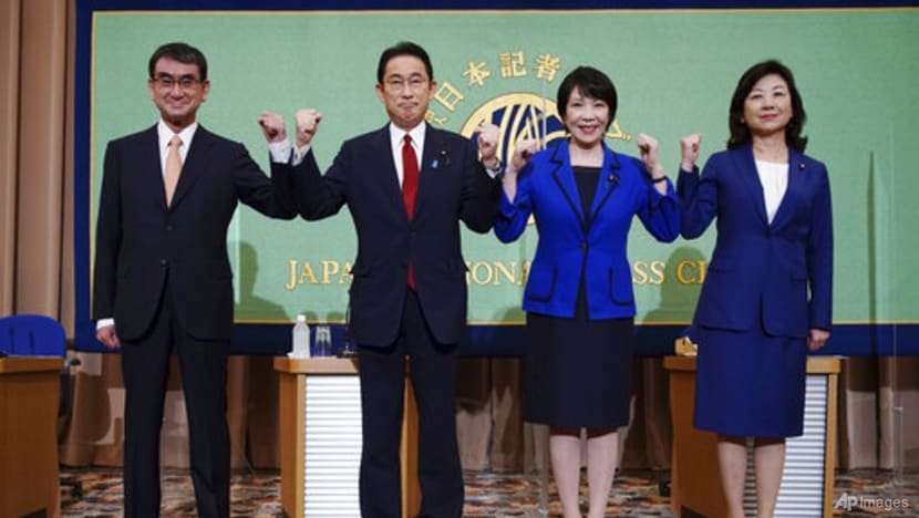 Japan PM contenders deny toning down views on nuclear, gender issues to attract votes