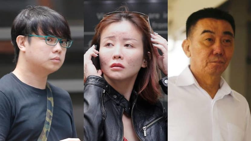 Love triangle trial: Businessman found guilty of hiring hitmen to slash two-timing beauty queen's lover