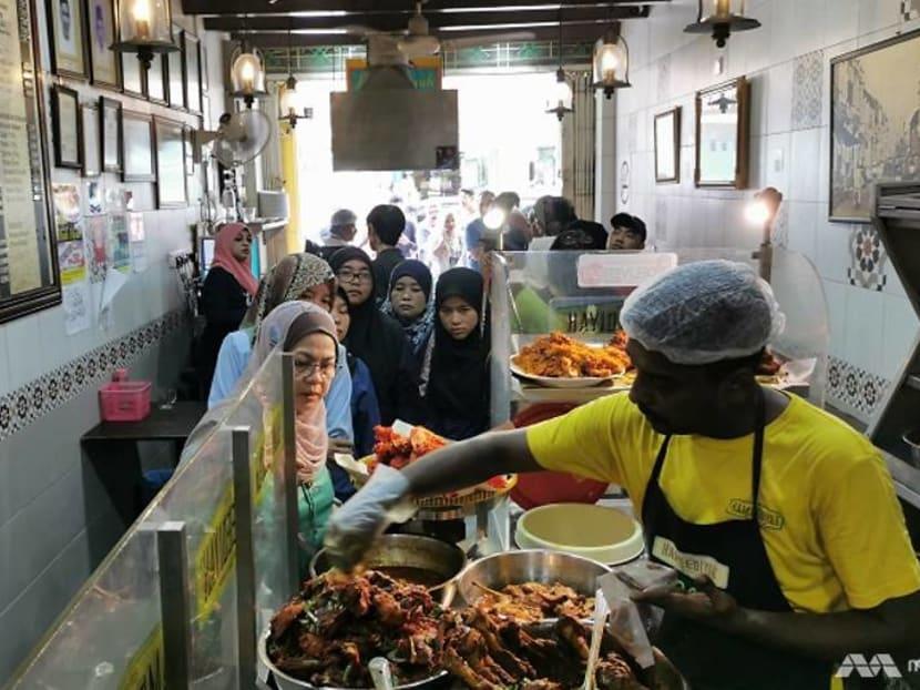 Nasi kandar shop in Penang draws crowd with century-old recipes