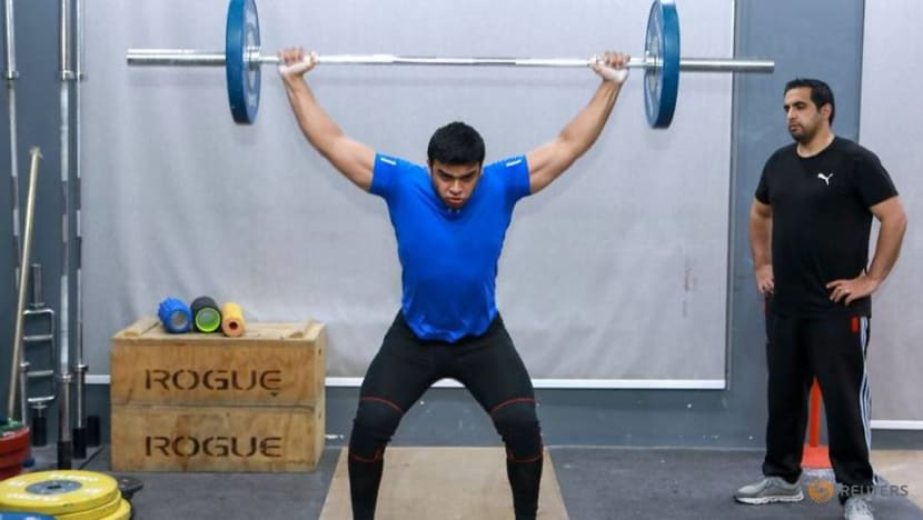 Olympics-First Palestinian weightlifter at Olympics braced to make history